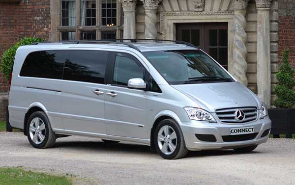 Luxury Executive Mercedes 7 Passenger Viano With Privacy Glass