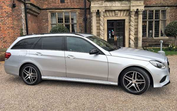Sports Executive Mercedes AMG E Class Tourer With Privacy Glass